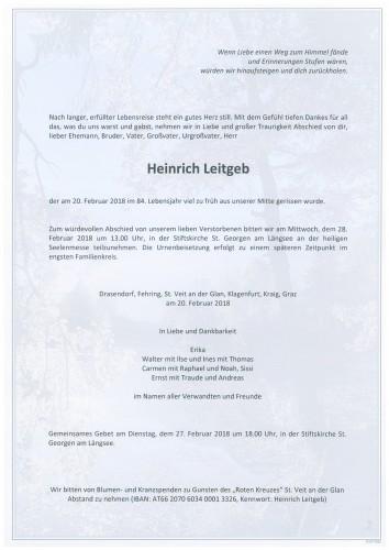 Heinrich Leitgeb