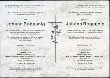 Johann Rogaunig