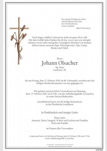 Johann Olsacher