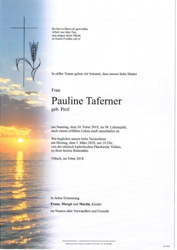 Pauline Taferner