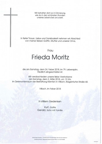 Frieda Moritz