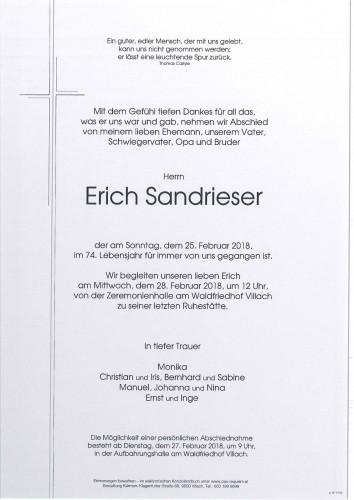 Erich Sandrieser