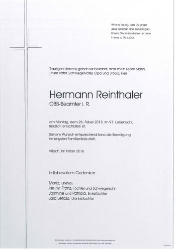 Hermann Reinthaler