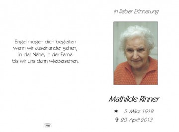 Mathilde Rinner