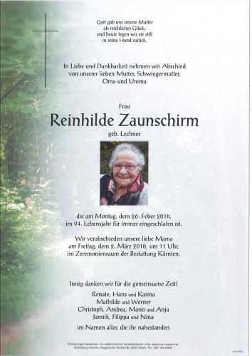 Reinhilde Zaunschirm