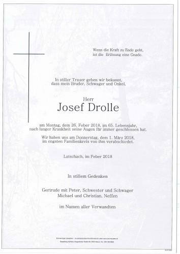 Josef Drolle