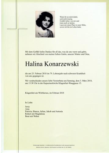 Halina Konarzewski