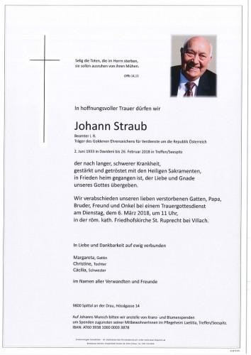 Johann Straub