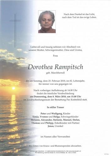 Dorothea Rampitsch