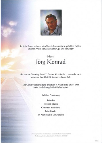 Jörg Konrad