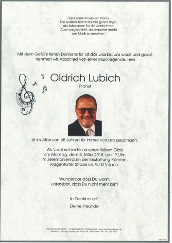 Oldrich Lubich