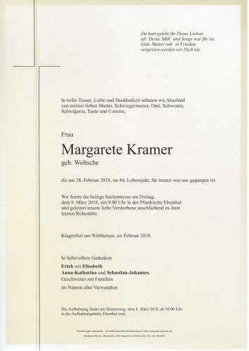 Margarete Kramer
