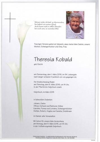 Theresia Kobald geb. Reicht
