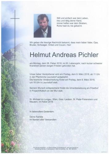 Helmut Andreas Pichler