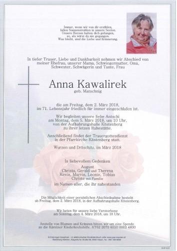 Anna Kawalirek