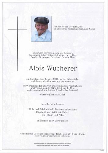 Alois Wucherer