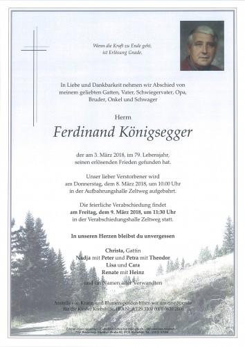 Ferdinand Königsegger
