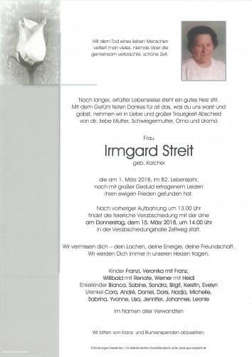 Irmgard Streit