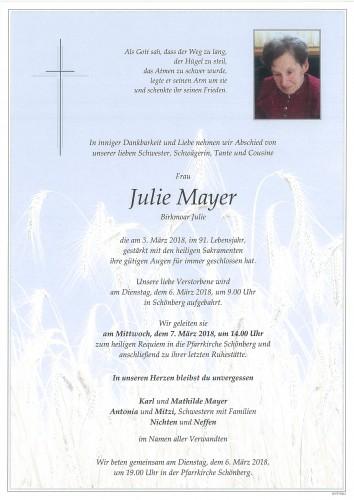 Julie Mayer
