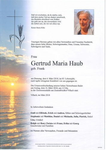Gertrud Maria Haub