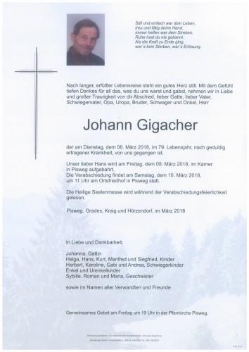 Johann Gigacher