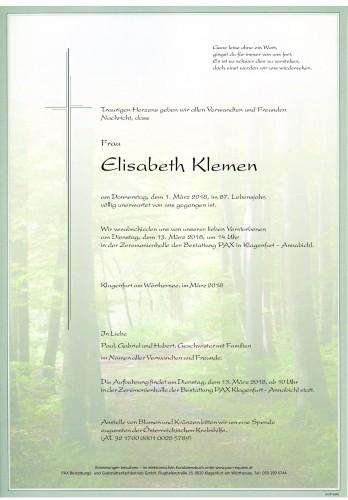 Elisabeth Klemen