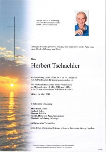 Herbert Tschachler