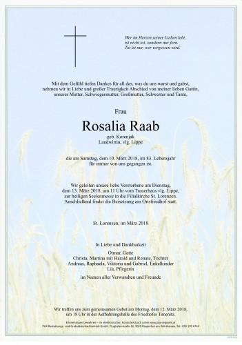 Rosalia Raab