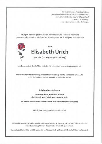 Elisabeth Urich