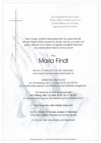 Maria Findl