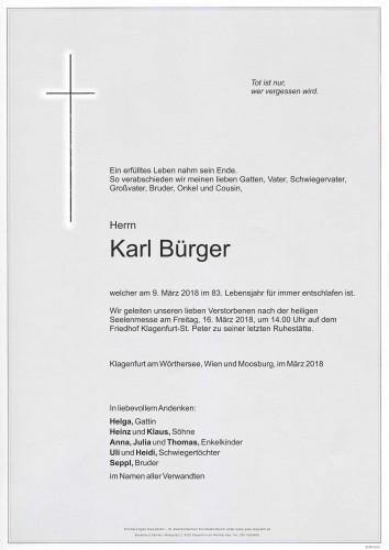 Karl Bürger