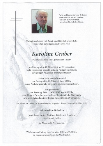 Karoline Gruber
