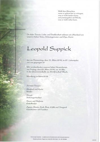 Leopold Suppick