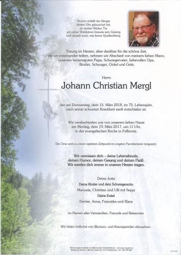 Johann Mergl