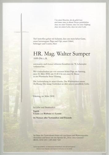HR.Mag. Walter Sumper