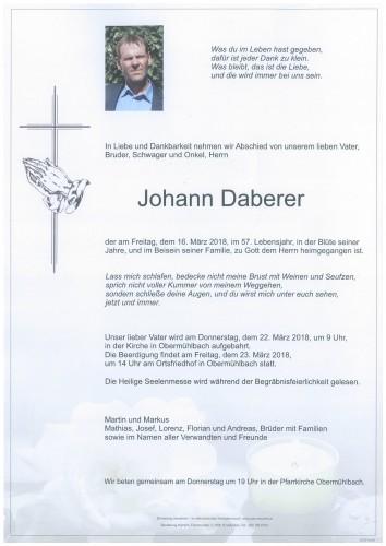 Johann Daberer