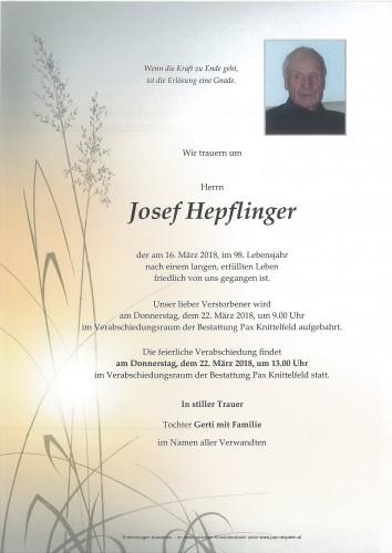 Josef Hepflinger