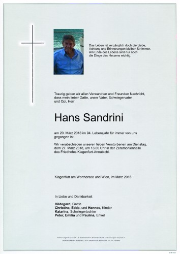 Hans Sandrini