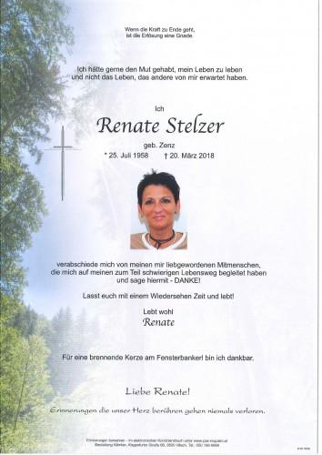 Renate Stelzer