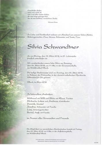 Silvia Schwandtner