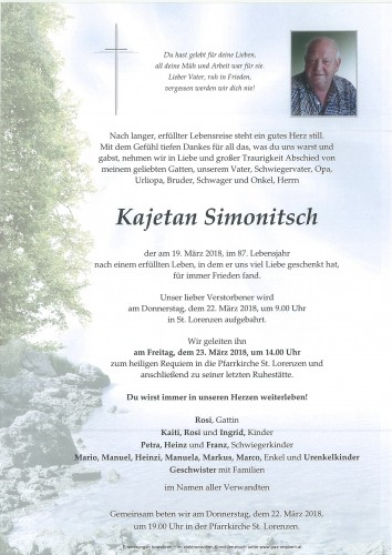 Kajetan Simonitsch