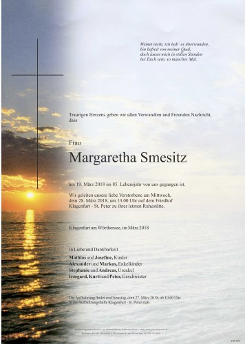 Margaretha Smesitz