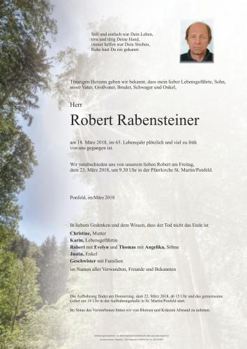 Robert Rabensteiner