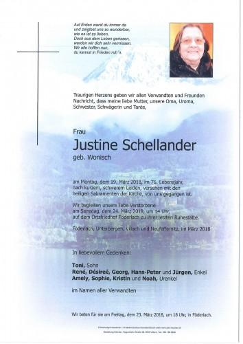 Justine Schellander