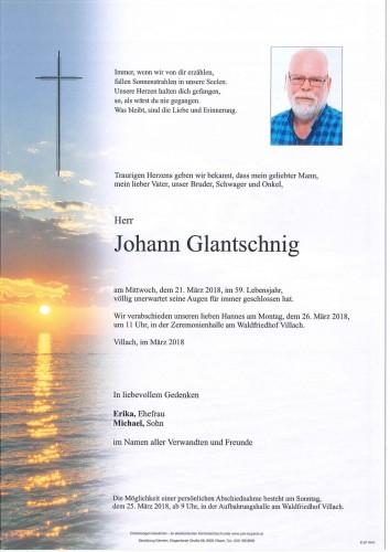 Johann Glantschnig