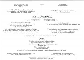 Karl Samonig