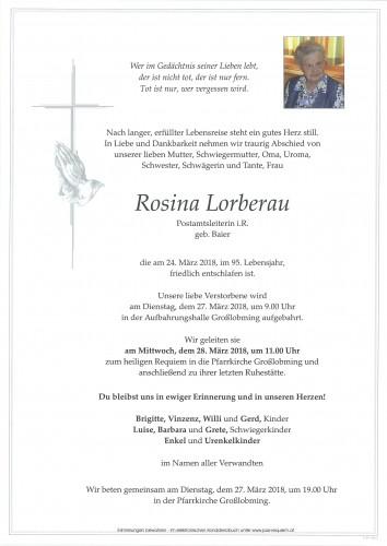 Rosina Lorberau