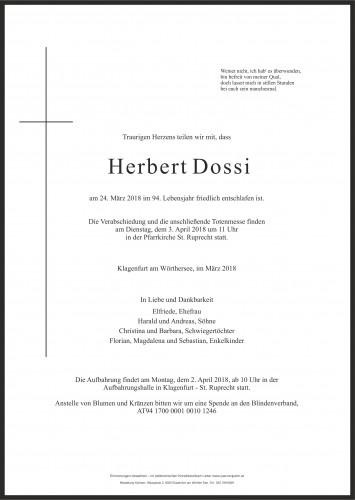 Herbert Dossi