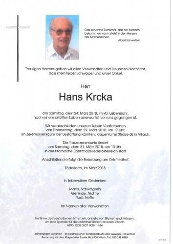 Johann Krcka