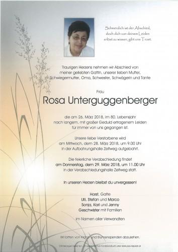 Rosa Unterguggenberger